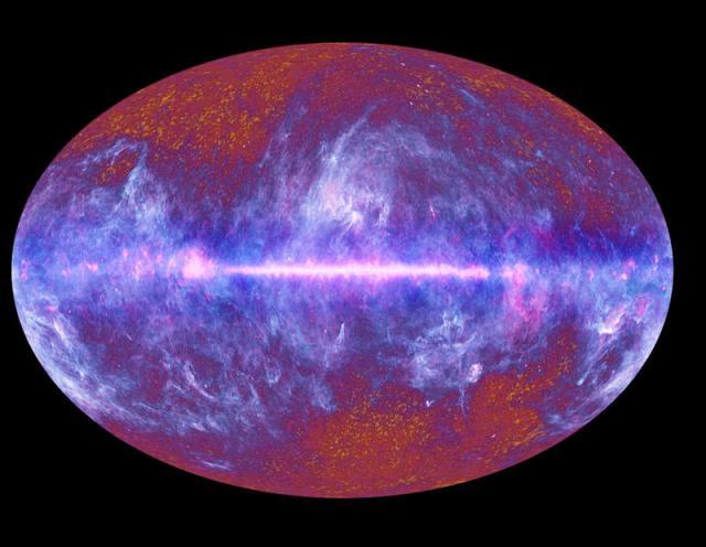 La imagen más completa del universo hasta ahora. Fuente: ESA