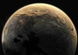 Apariencia que tendría desde el exterior un planeta de carbono