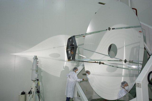 Espejo primario del telescopio espacial Herschell de 3,5m
