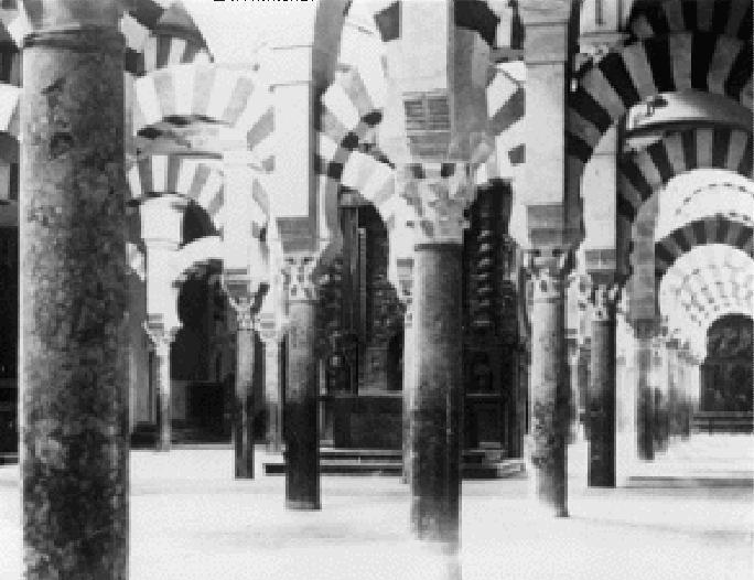 Primera fotografía de la Mezquita de Córdoba