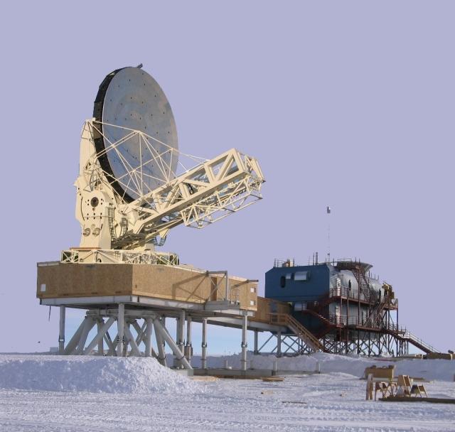 Telescopio Polo Sur de 10m