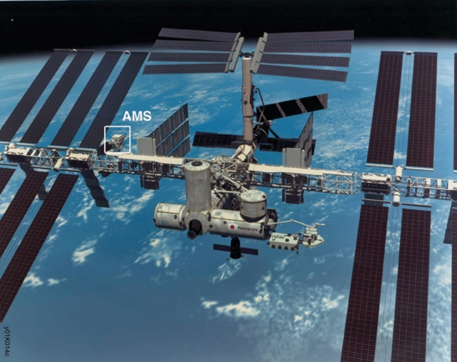 ams-02 on iss
